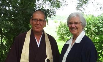 Jiun roshi en Ana Maria Schlüter Rodés