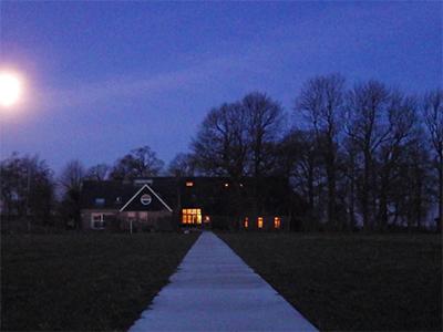 Noorder Poort bij nacht