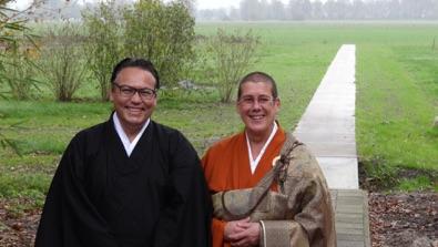Jiun roshi en Raymond