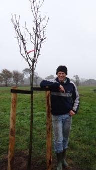 Vruchtbomen planten op Noorder Poort
