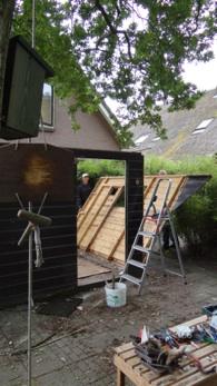 Afbreken sauna