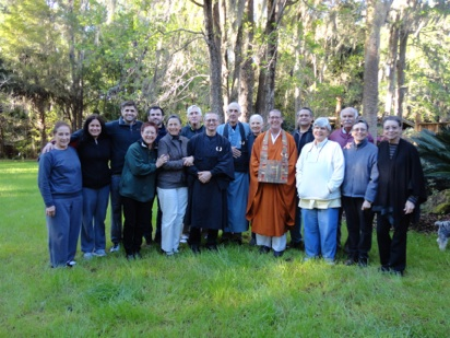 Zen sesshin in Micanopy
