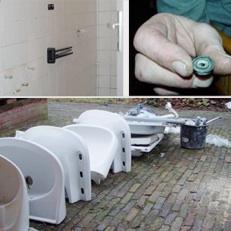 Renovatie badkamers Noorder Poort