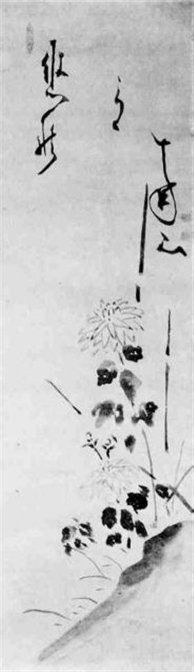 Hakuin Ekaku (1686-1768), Chrysanten