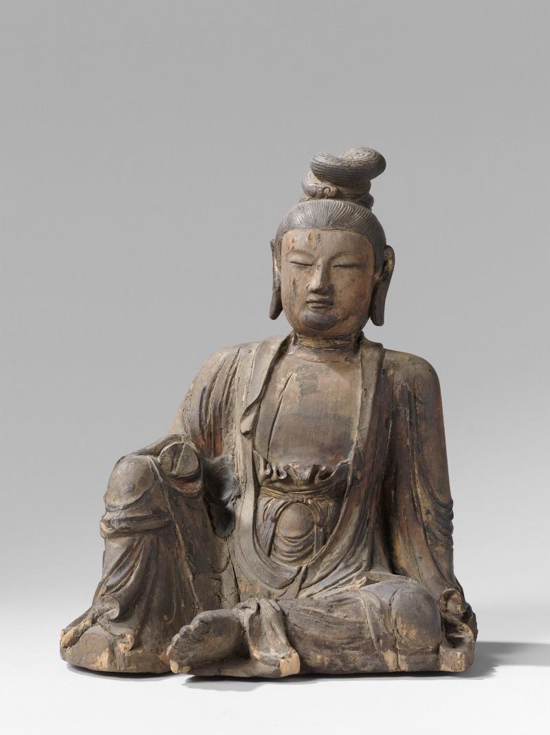 Bodhistattva (China, 1100-1300); Rijksmuseum Amsterdam