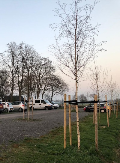 Vrienden Noorder Poort: parkeerplaats