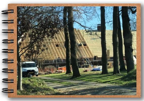 Vernieuwing dak en renovatie kamers (2019)